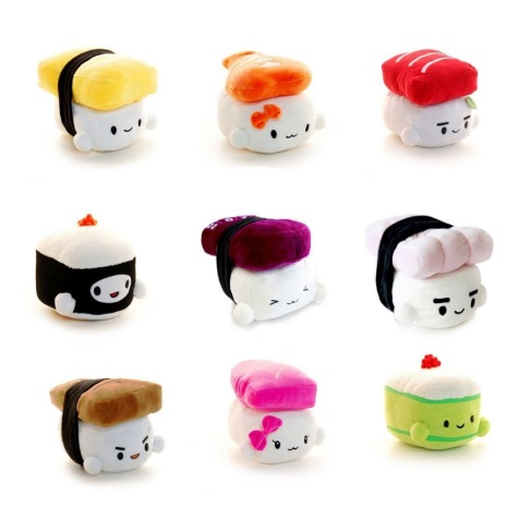 Super-Cute-Sushi-Series-Pillow-Varies-Color-Available-Different-style-and-emoji-Cushion-Soft-hand-toy
