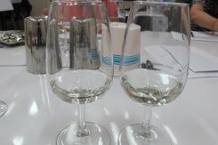 Sake tasting in class